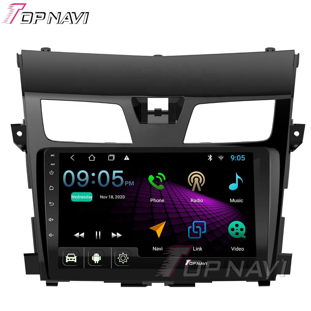 10.1 Inch Car DVD Player For Nissan Teana 2013-2019 Android Touch Screen Radio Audio Video Multimedia GPS Navigator 2G 32G
