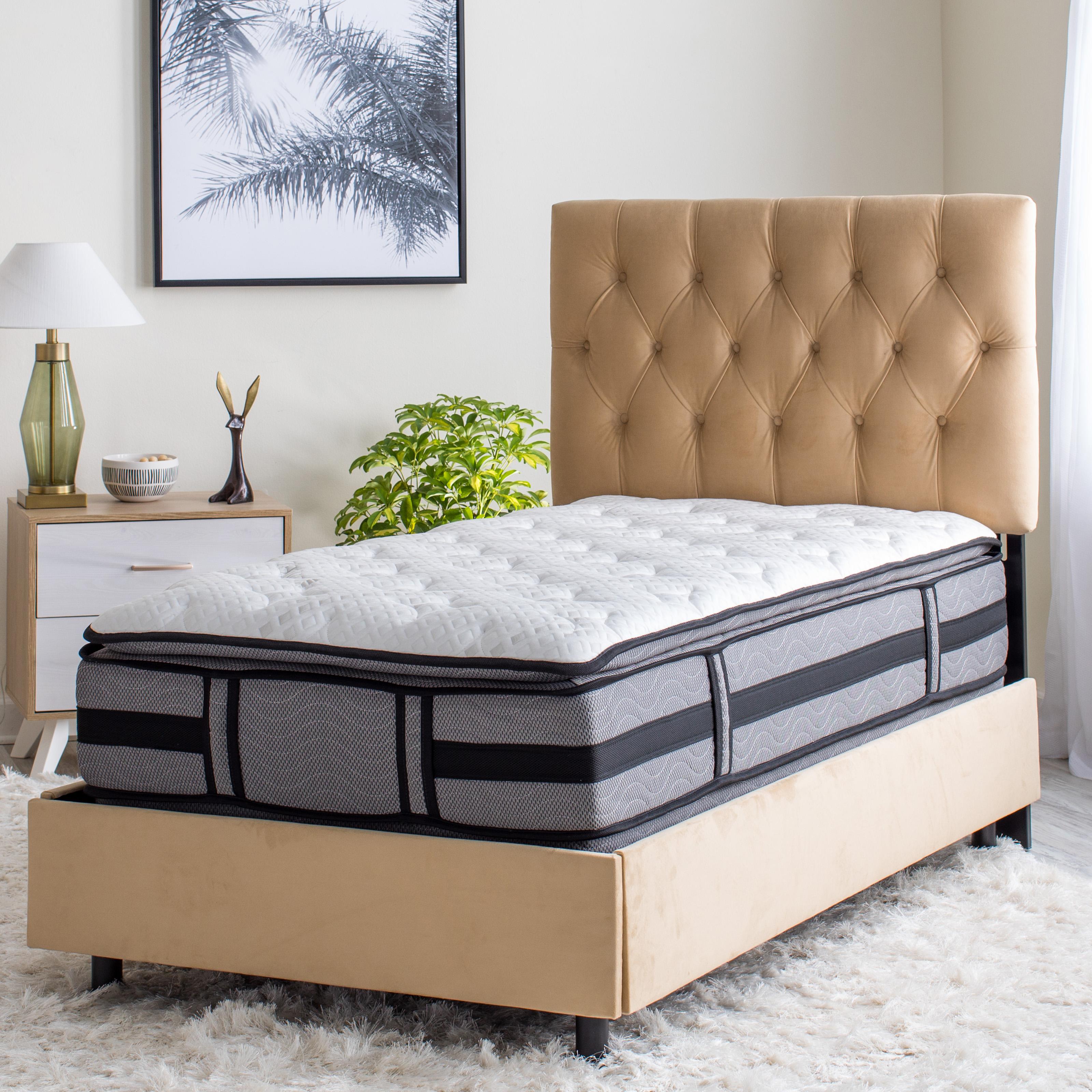 pocket spring memory foam king full size compressed natural latex mattress - Jozy Mattress | Jozy.net