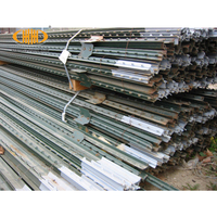 Best selling products ISO & CE steel metal t bar fence post/t post galvanized wholesale