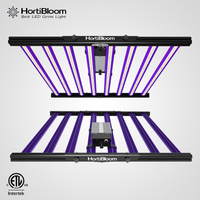 Newest HortiBloom MEGA Plus Full Spectrum Commercial Horticulture 650W LED Grow Light Bar