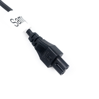 3 core power cable 2 pin ac power cord plug 110v power cord