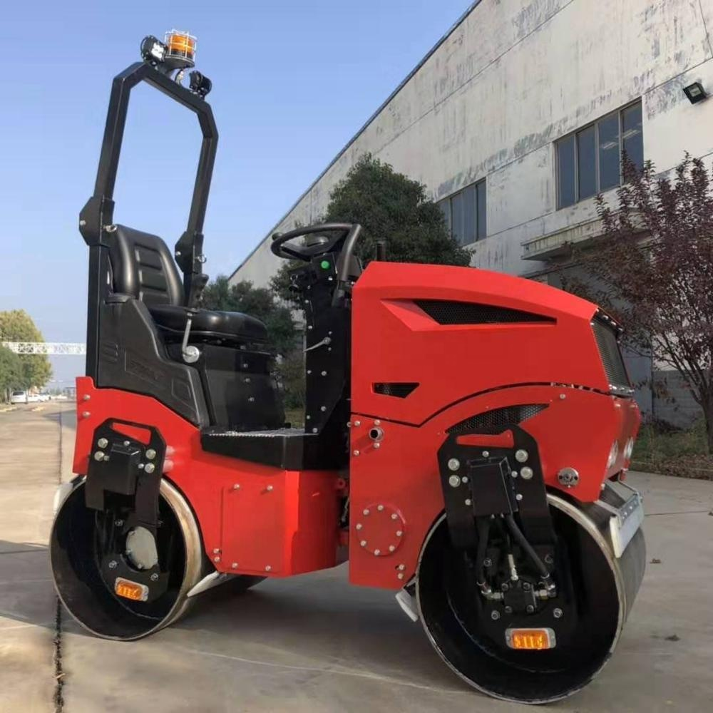 1 Ton 1.5 Ton 2 Ton Fully Hydraulic Vibrating Road Roller Compactor Price