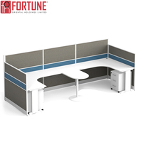 2 people benching cubicle workstation furniture open office table