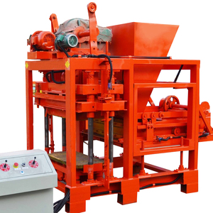 making different types of bricks with different moulds brick hydraulic power cement brick making machine