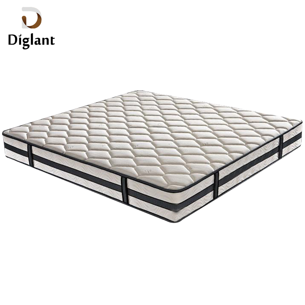 DM065 Diglant Gel Memory Latest Double Fabric Foldable King Size Bed Pocket bedroom furniture second hand mattress