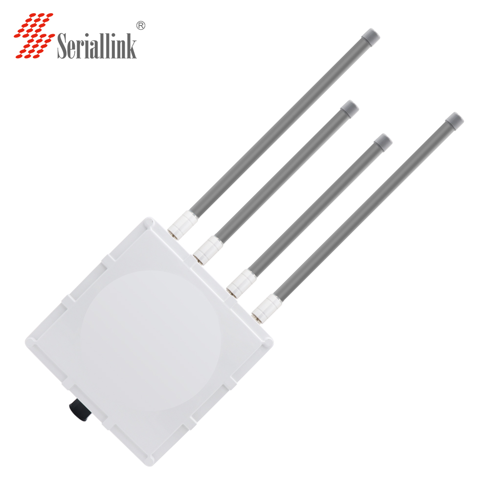 Seriallink S900 High power outdoor wireless cpe router LAN to <strong>wifi</strong> 800Mbps with poe power supply