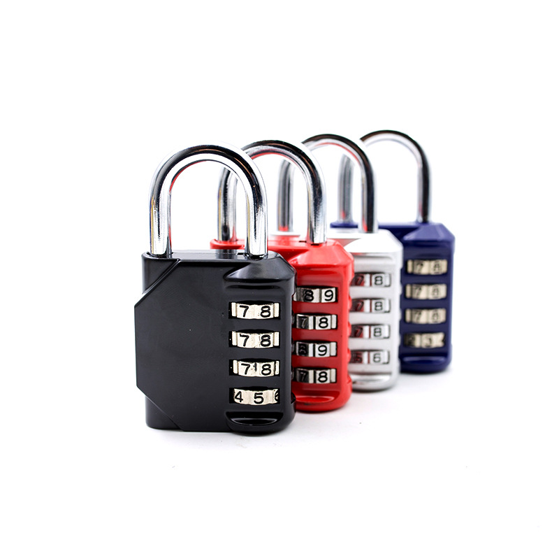 *US 234 Amazon's popular large-scale swimming pool gym 4-digit zinc alloy password lock industrial password padlock