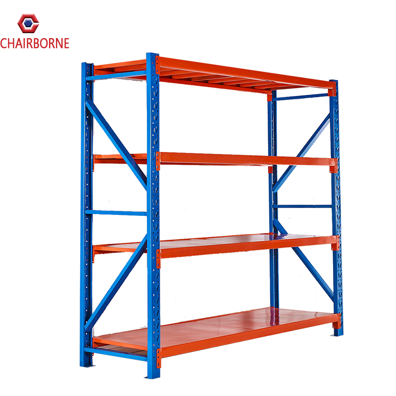 Hot selling Light Duty 4 Tier Iron Storage <strong>Rack</strong> Metal Shelves For Office Supplies