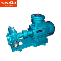 YONJOU KCB Series Electric Drive Fuel Oil/Heavy Oil Transfer Gear Oil Pump with Heating Jacked