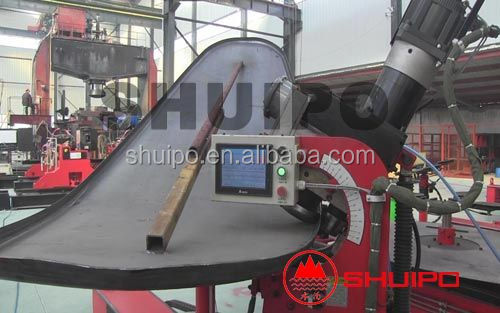 Tank end flanging machine/Tank head flanging machine/No template irregular dished head folding Machine