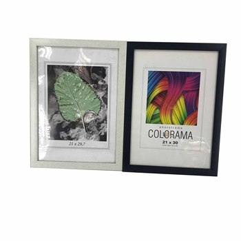 "Wholesale Cheap White Black Plastic Poster Frame, Holds 8"" x 10"" 21 x 29.7 Photo Frames For Home Wall,Desk Deco"