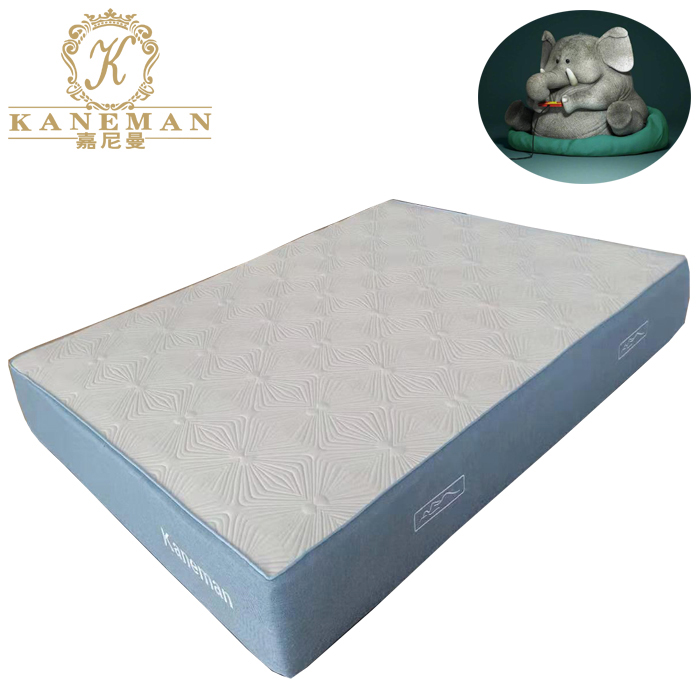 Vacuum roll in box 10 inch luxury natural latex cool gel memory foam mattress - Jozy Mattress | Jozy.net