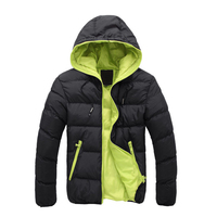 Winter Warm Jacket Short Style Hooded Jacket Bomber Jacket For Men Made In China