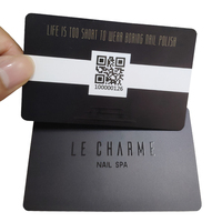 Plastic QR code customized printed loyalty gift pvc card