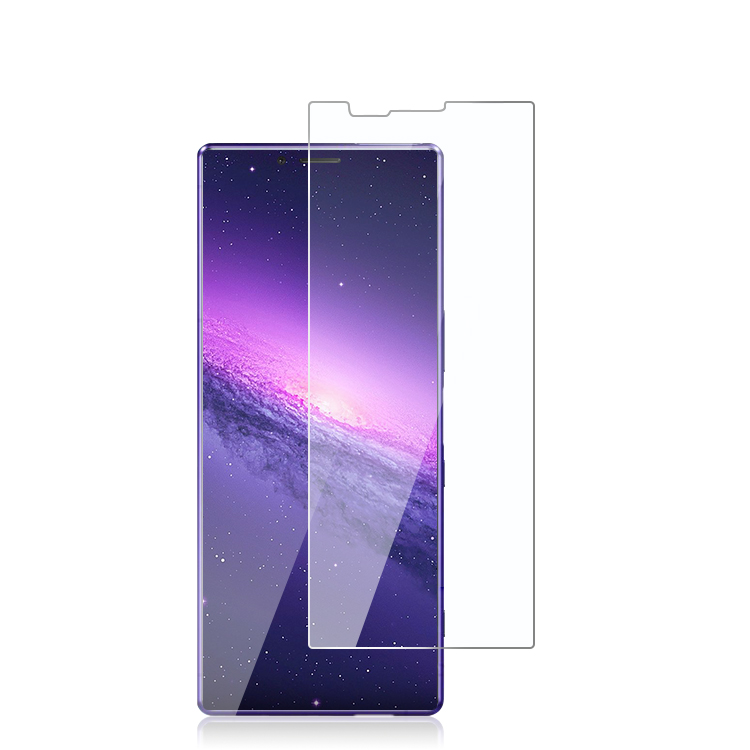 Sony Xperia <strong>1</strong> Tempered Glass screen protector 2.5D 9H bubble free high clear tempered glass