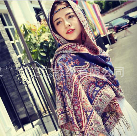 best-selling turkish mexican cotton paisley shawls and scarves pashmina