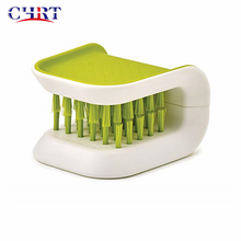 Chrt Wholesale Kitchen Green Non-Slip One Size Chopsticks Knife Cleaner BladeBrush Kitchen Cutlery Washing Cleaner <strong>Brush</strong>