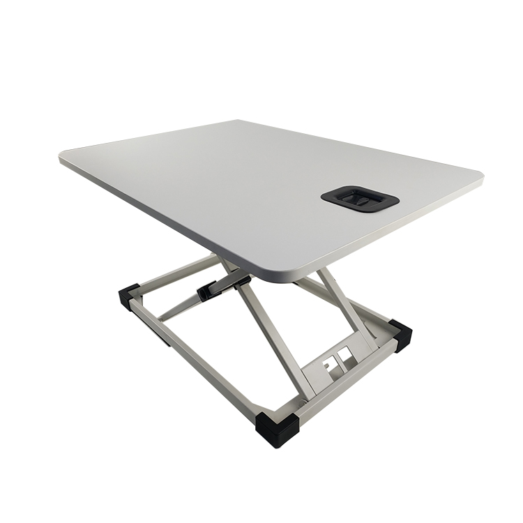 Gas <strong>Spring</strong> Sit Stand Laptop Desk Workstation Height Adjustable Stand Up Desk Converter