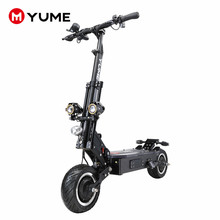 Yume China 5000w powerful 11inch off road tire folding e-scooter adult electro scooter