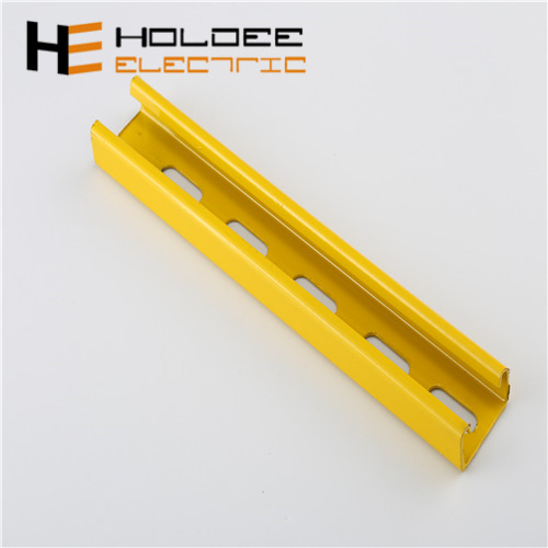Epoxy coated/powder coated steel strut c channel unistrut channel <strong>p1000</strong> 41x41x2.5 mm accessories price list