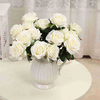 IFG silk wedding white artificial flowers for flower backdrop &centerpieces arrangements