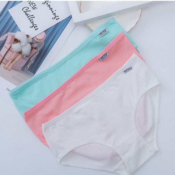 wholesale New style women low waist cotton panties girl's underwear