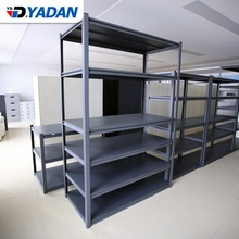 Factory supply High quality wholesale duty storage rack with 5 layers office supermarket furniture steel metal <strong>shelves</strong>