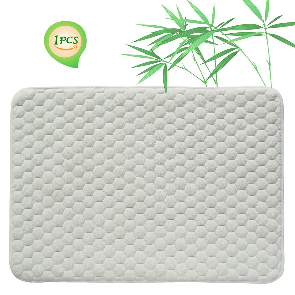 Hot Selling Bamboo Terry Quilted Baby Crib Mattress Pad 100% Waterproof/AliExpress/home textile/Waterproof Mattress Protector - Jozy Mattress | Jozy.net