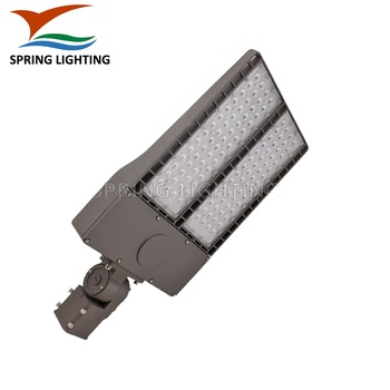 Samples DLC UL IP66 LED 300Watt parking lot area high pole Street Lights for car parking
