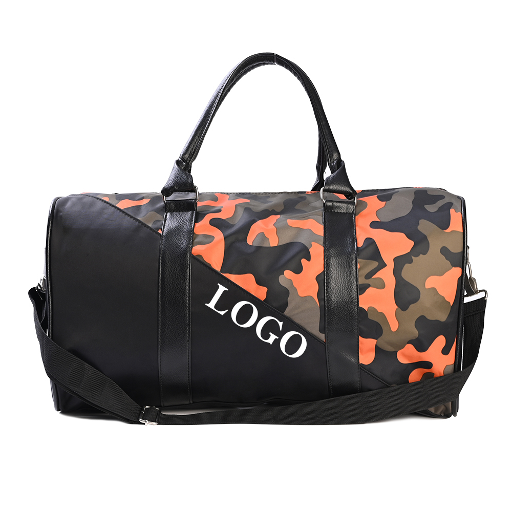 Travel Luggage Duffle Bag Lightweight Portable Handbag Colorful Eagle Print Large Capacity Waterproof Foldable Storage Tote