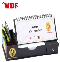 2020 Useful Stationery With Desk Memo Pad Top Blister Calendar For Office