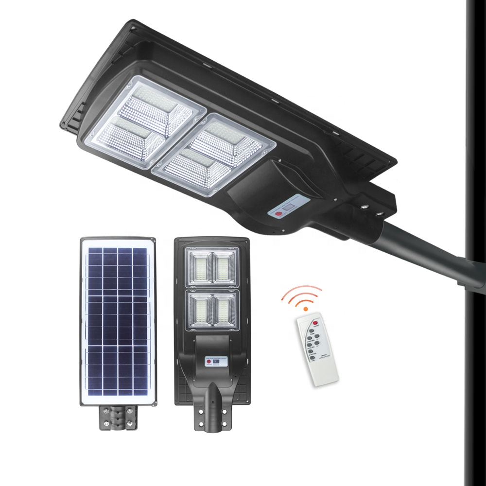 140000 Lumens 140w <strong>120</strong> Led Solar Street Light 12 Hours Working