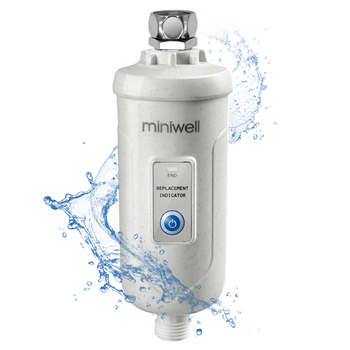shower purifier, high output Removing chlorine for spa bathing miniwell L730
