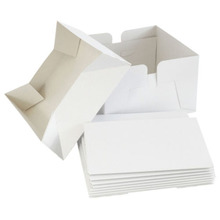 wedding window cake box <strong>in</strong> bulk white Bakery box Cake Boxes 10 x 10 x 6&quot; Inch