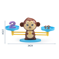 Wholesale Plastic Balance Scales Montessori Maths Toys Early Learning Kids Educational Toy