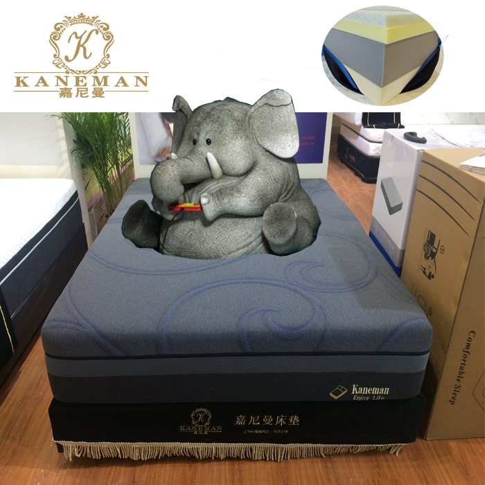 Luxury roll in box cool gel memory foam mattress wholesale cheap price - Jozy Mattress | Jozy.net