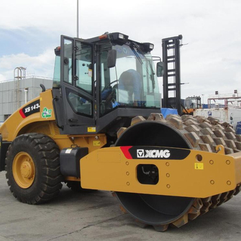 XCMG 16 Ton single drum vibratory roller XS163J road roller price