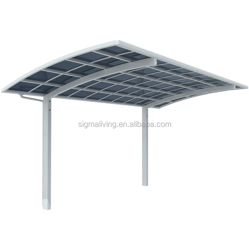 Aluminium modern garage car parking metal carport