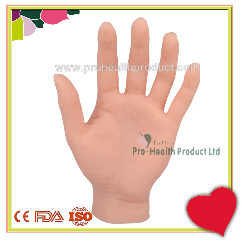 Custom-Made Realistic Artificial Mannequin Silicone Hand Model For Nails Art