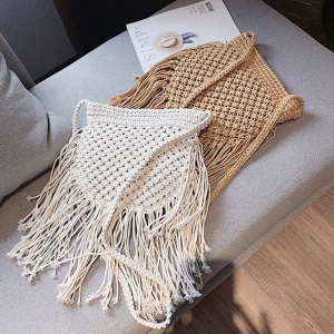 New Fashion Handbags Women Beach Shoulder Bags Wholesale Summer Natural Straw Bucket Bag