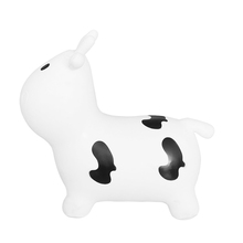 kids toys child gifts ride on hopper seat eco-friendly inflatable dairy cow animal for play indoor or outdoor