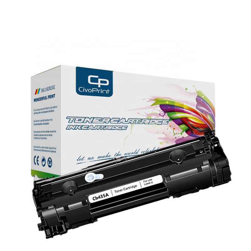 Civoprint Hot-selling Cb435A 35A Toner Cartridge Compatible for Laserjet <strong>P1005</strong> P1006 P1007 P1008 P100 <strong>printer</strong>