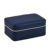 2019 New multifunctional luxury portable travel leather jewelry box with zipper