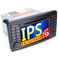Car Multimedia Player GPS Two Din Android 9 Automotivo For Mercedes/Benz/GL ML CLASS W164 ML350 ML450 ML500 GL320 Radio <strong>w163</strong>/166