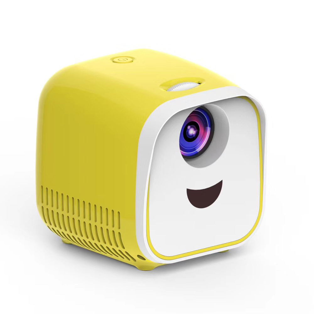 L1 Newest Kids Mini <strong>Projector</strong> Full HD 1080P Mini Children's Mini Early Education <strong>Projector</strong> Cartoon Story Gifts