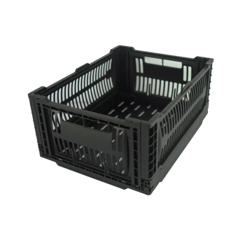 "New arrival small size collapsible type 15.7""x11.8""x 6.9"" folding basket for fruit"