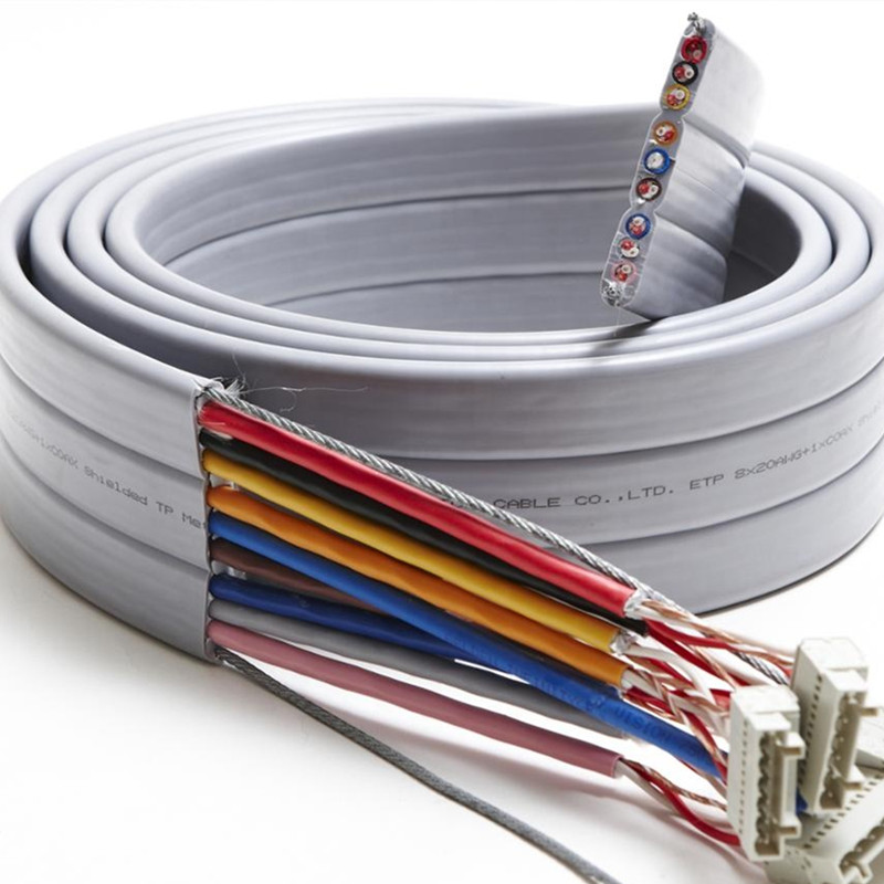 IEC60227-6 300/500V 450/750V <strong>h05vvh6</strong> <strong>f</strong> flat lift travelling cable