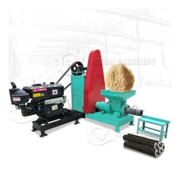 Automatic coconut shell charcoal briquette machine/charcoal briquette extruder machine/briquette making machine price