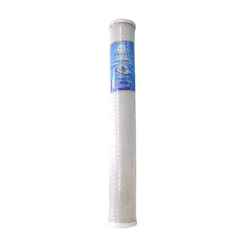 Factory Supplying Wholesale 20 Inch Carbon Block Chlorine Removal Cto Water Filter Cartridge