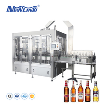 Glass Bottle Beer/Wine Filling Machine/Production Line
